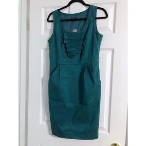 [LOFT] Ruffle Sheath Dress